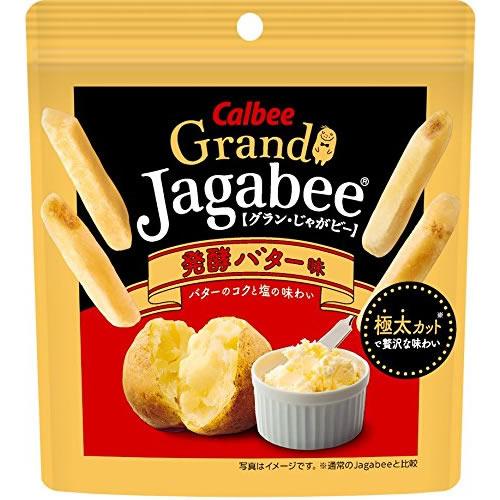 グランじゃがビー 発酵バター味 【38g×12個】(カルビー)