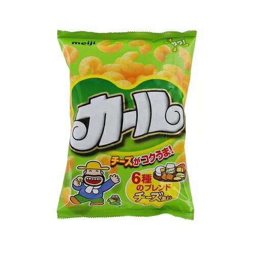 (西日本限定品) カールチーズあじ【64g×10袋】(明治)
