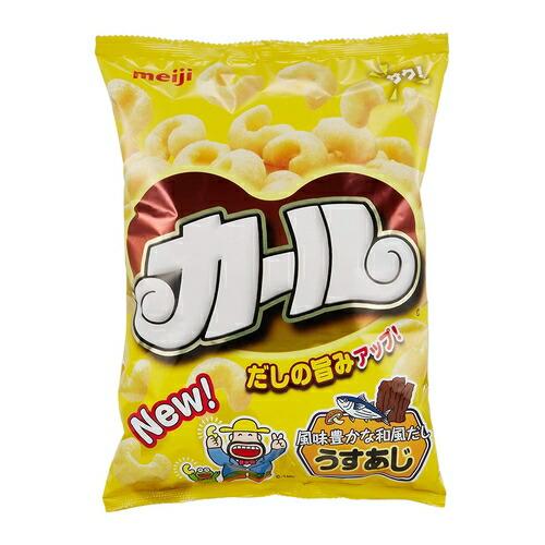 (西日本限定品) 明治 カールうすあじ  【68g×10袋】