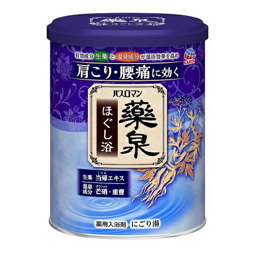 【医薬部外品】バスロマン 薬泉 ほぐし浴 【750g】(アース製薬)