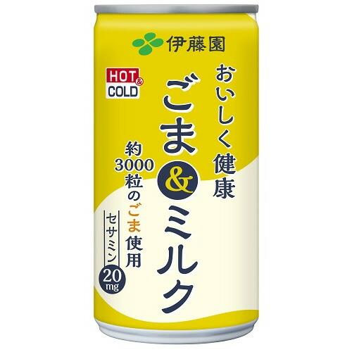 ごま&ミルク 【190g×30本】(伊藤園)