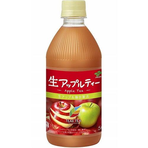 TEAs' TEA(ティーズティー) NEW AUTHENTIC 生アップルティー 【500ml×24本...