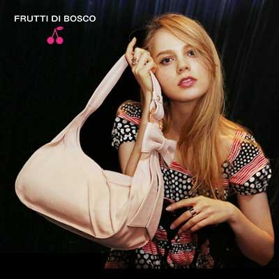【FRUTTI DI BOSCO】Bolero petit -memoire pink-