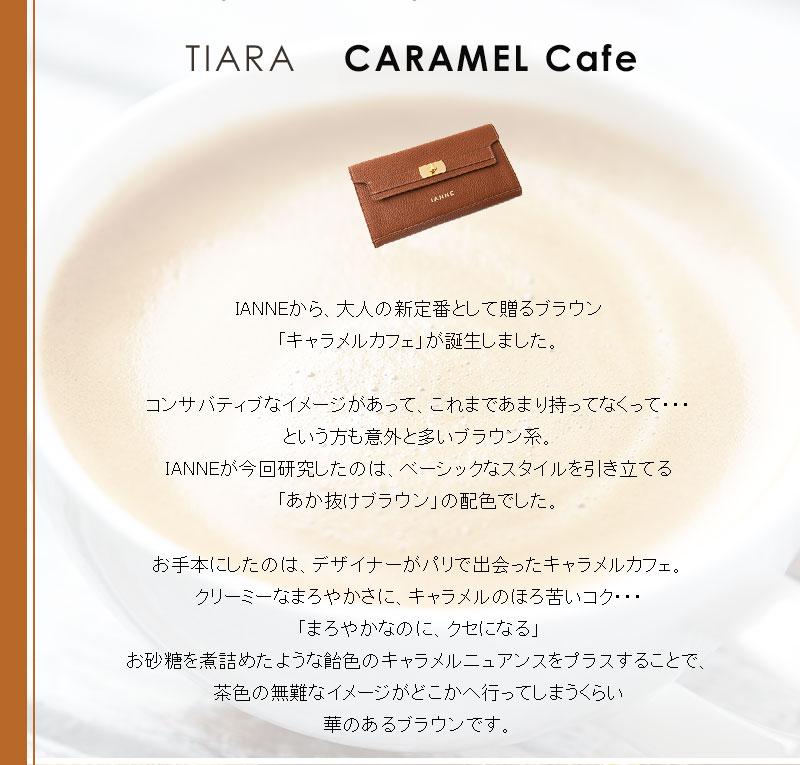 新たな定番色、キャラメルカフェ