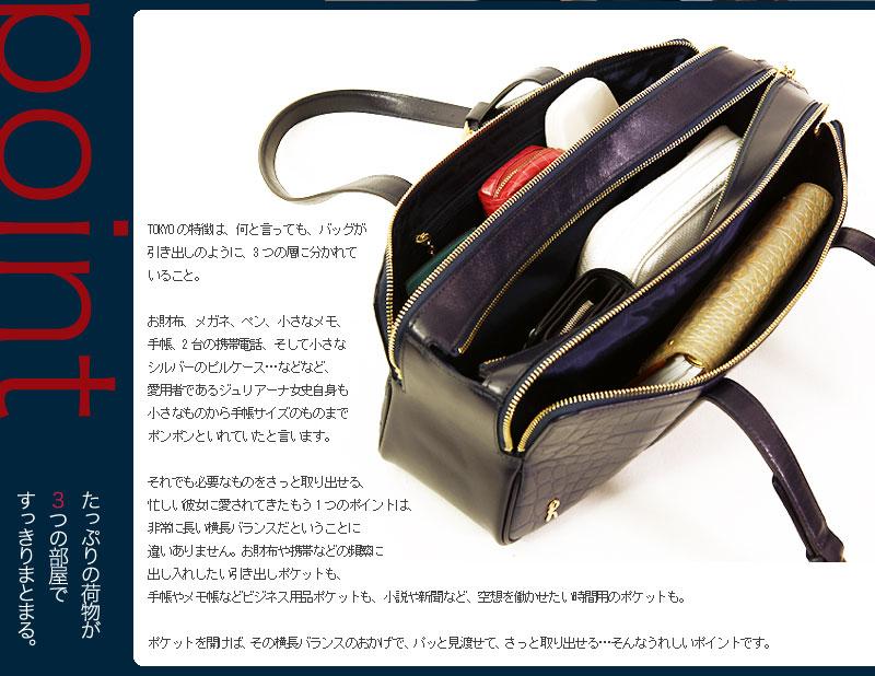 ロベルタディカメリーノのバッグTOKYO(トウキョウ)引き出しのようなバッグ