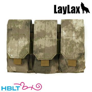 [LayLax]トリプルマガジンパウチ(AT)
