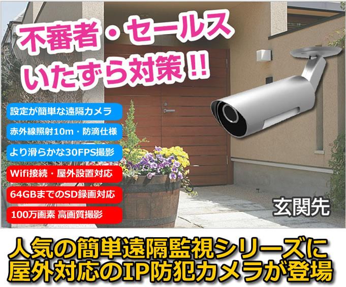 MTW-HE03IP 屋外IPカメラ