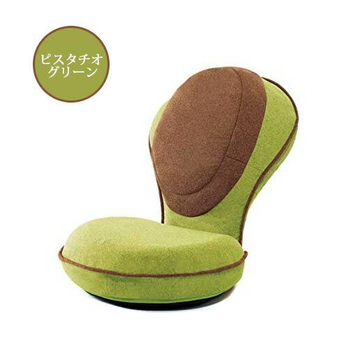 背筋がGUUUN 美姿勢座椅子リッチ ピスタチオグリーン