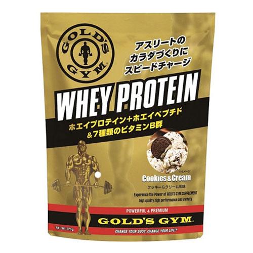ゴールドジム ホエイプロテイン クッキー&クリーム風味 720g