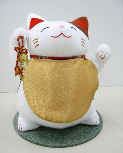 福猫季節のお飾り(鈴付)・京都ーリュウコドウ