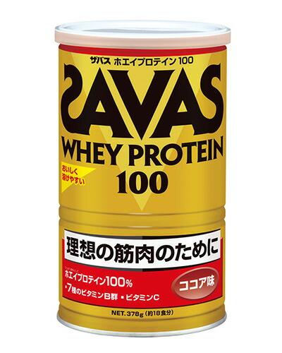 ザバス(SAVAS) ホエイプロテイン100 ココア 378g