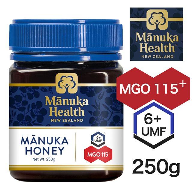 マヌカヘルス マヌカハニー MGO115 UMF6 250g