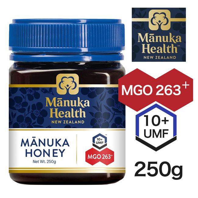 マヌカヘルス マヌカハニー MGO263 UMF10 250g