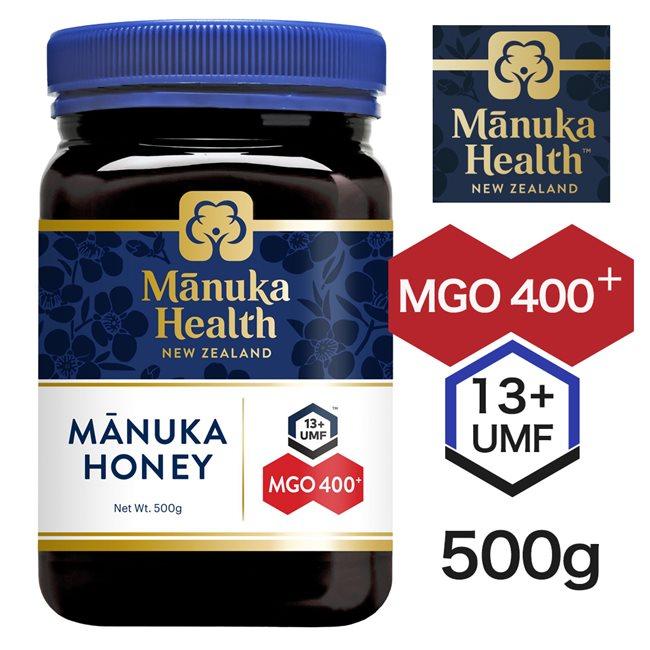 マヌカヘルス マヌカハニー MGO400 UMF13 500g