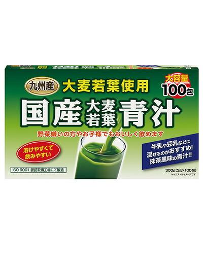 国産大麦若葉青汁 3g×100包