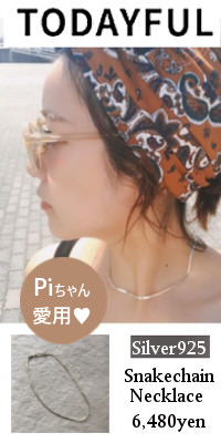 TODAYFUL トゥデイフル Silver925 Snakechain Necklace