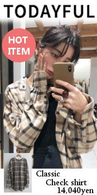 TODAYFUL トゥデイフル Classic Check シャツ