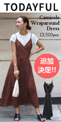 TODAYFUL トゥデイフル Camisole Wraparound Dress