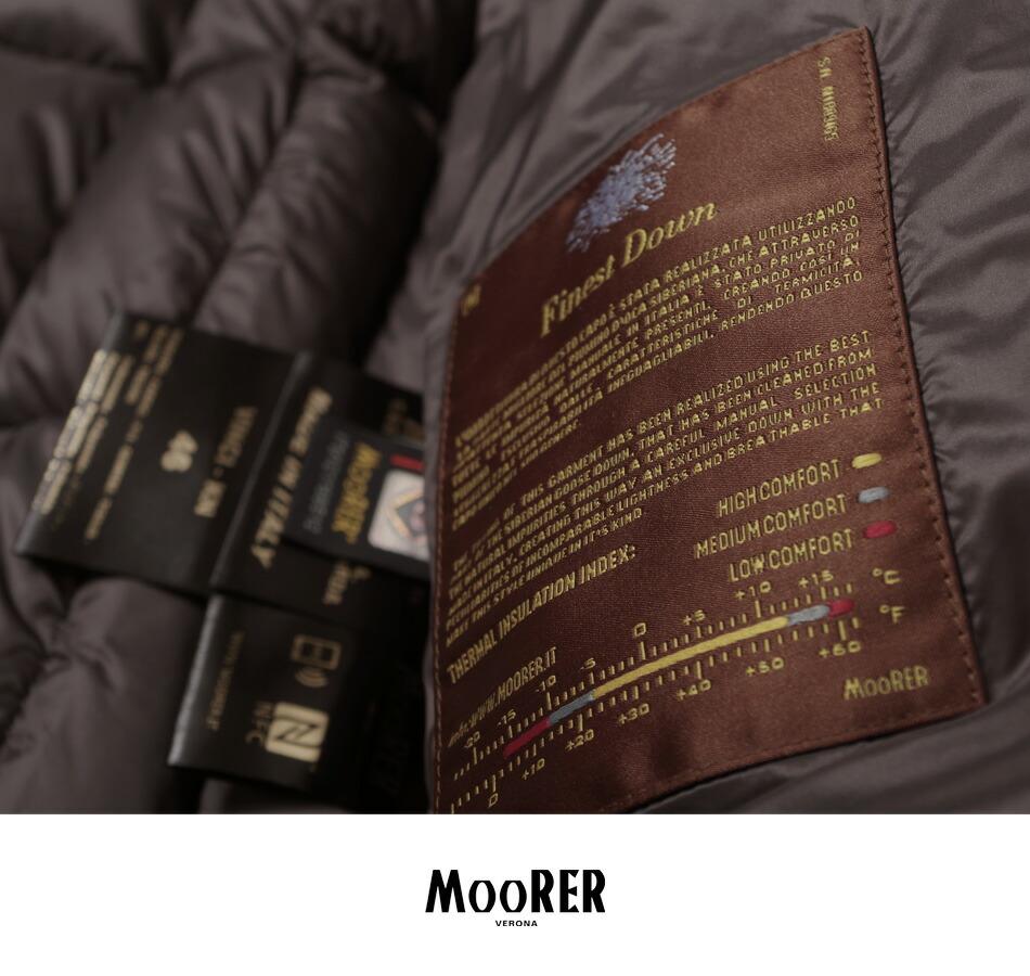 ムーレー/最高級ダウン/メンズ