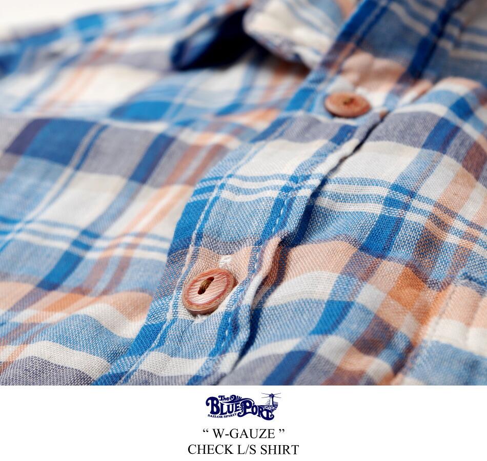 日本製/国産/シャツ/ガーゼ/カジュアルシャツ/メンズ