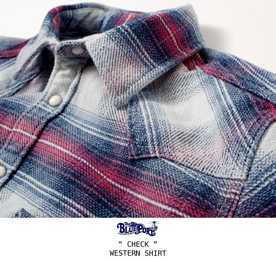チェックシャツ/メンズ/チェック/ウェスタンシャツ