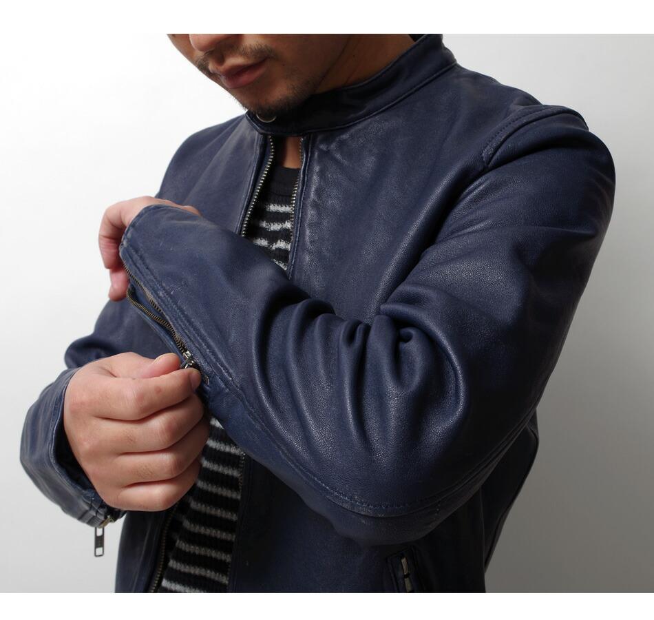 ライダース/メンズ/本革/レザージャケット/革ジャン