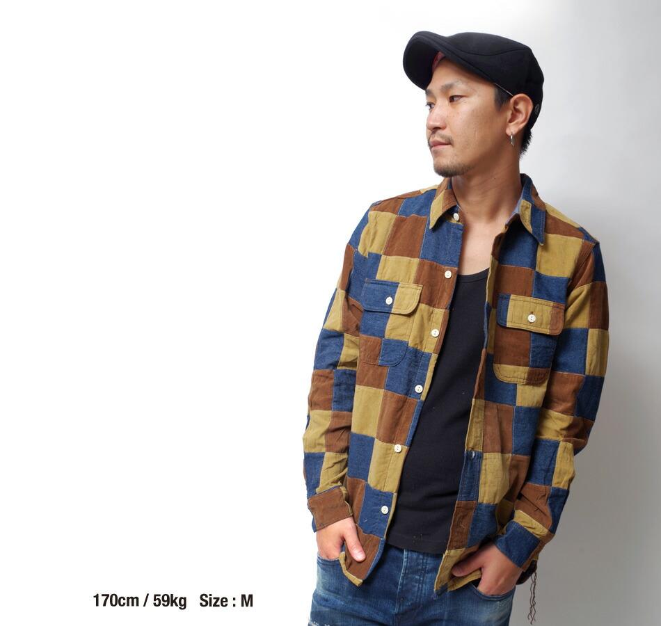 コーデュロイシャツ/メンズ/アメカジ/ヴィンテージ