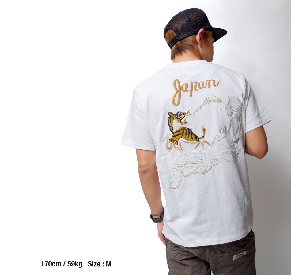 tシャツ/メンズ/アメカジ/ヒース/HEATH./スカジャン