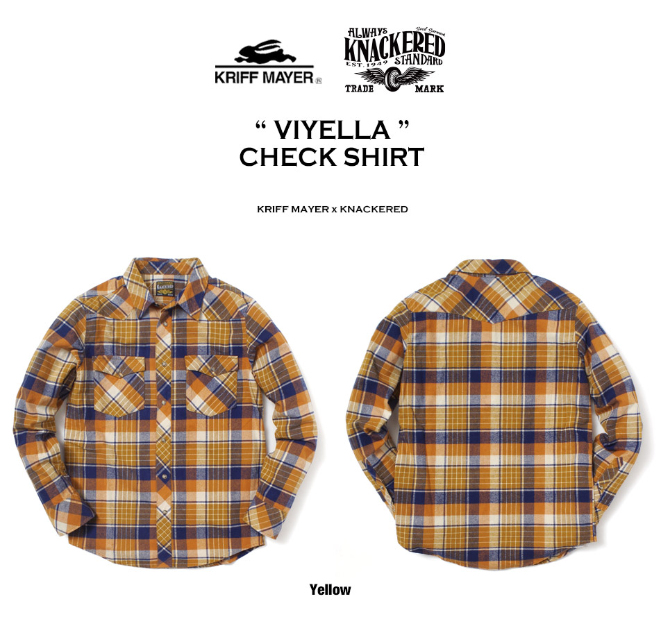 高い品質とこだわりのデザインが人気のビエラチェックシャツ