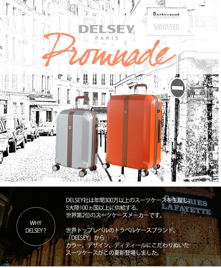 a5153f6170 DELSEY デルセー BERMAS・バーマス スーツケース Promnade プロムナード キャリーバッグ キャリーケース DPRZ-52 33L  52cm カラオケセット サンコースーツケース ...