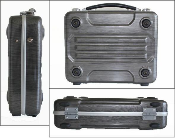 ブロンコ(G-BRONCO)122006 アタッシュケース ヘアラインガンメタ