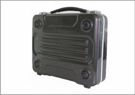 ブロンコ(G-BRONCO)122006 アタッシュケース カーボンプリント