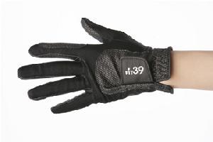 フィット39/FIT39 ゴルフグローブ 黒/黒 ミック/MIC
