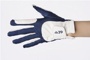 MIC ミック FIT39(フィット39) ゴルフグローブ 紺/白 MIC(ミック) 左手用・右手用