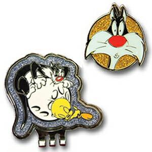 ルーニーテューンズ Looney Tunes シルベスターキャット ゴルフ マーカー