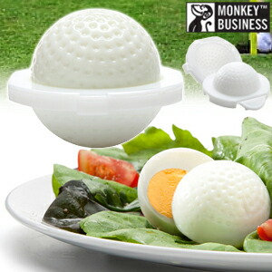 ゴルフボール型ゆで卵 エッグシェイパーズ