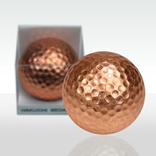 銅箔ゴルフボール メダリスト(銅)1個