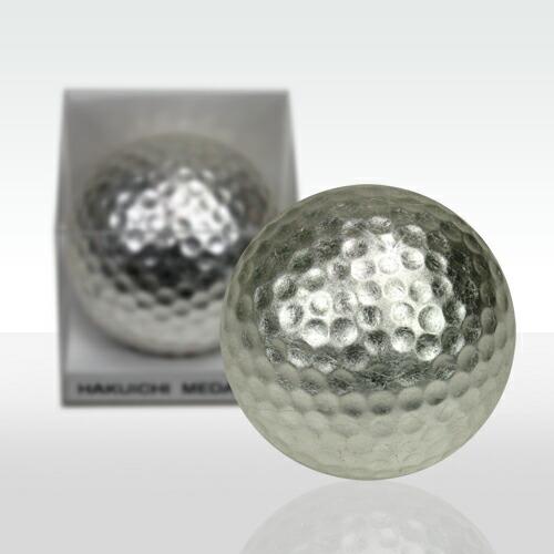 銀箔ゴルフボール メダリスト(銀)1個