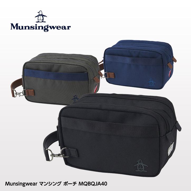 マンシングウェア ポーチ MQBQJA40 Munsingwear 2020FW/2020秋冬