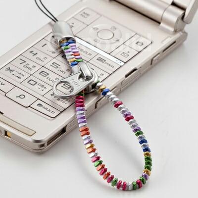 YKKジッパーストラップ 携帯ストラップ(大) マルチカラー AM-299/BK AM-299/WH