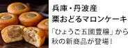 ひょうご五國豊穣栗おどるマロンケーキ