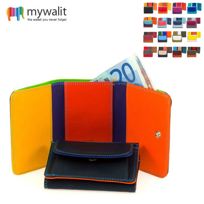 マイウォレット,mywalit,折り財布,革財布,レザー財布