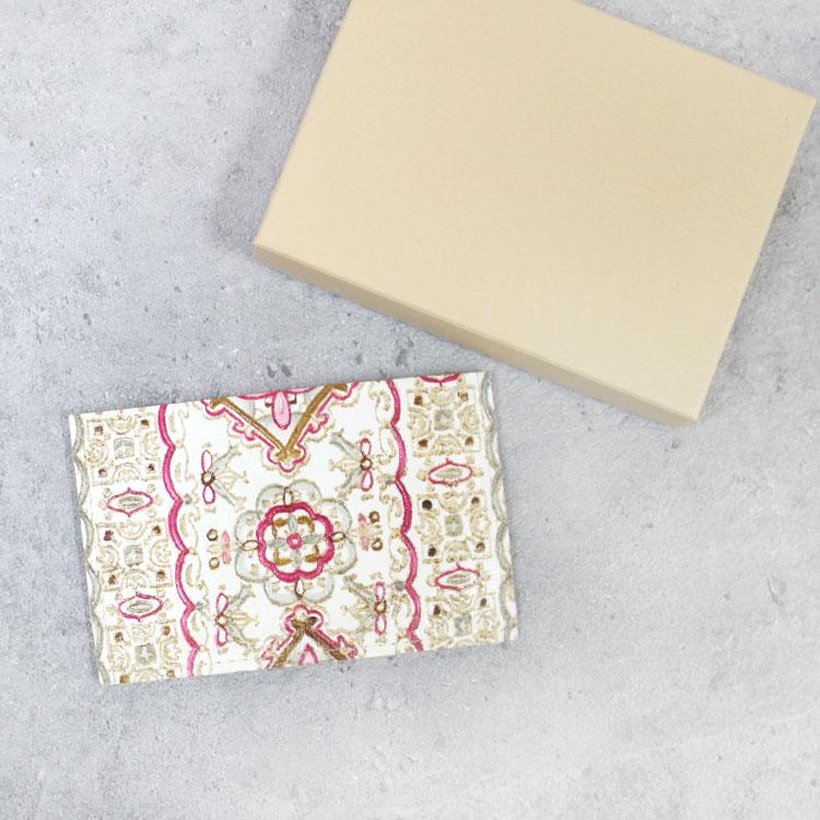 【 姫革細工 】【文庫革】 姫路産 白なめし革 薄型 カードケース