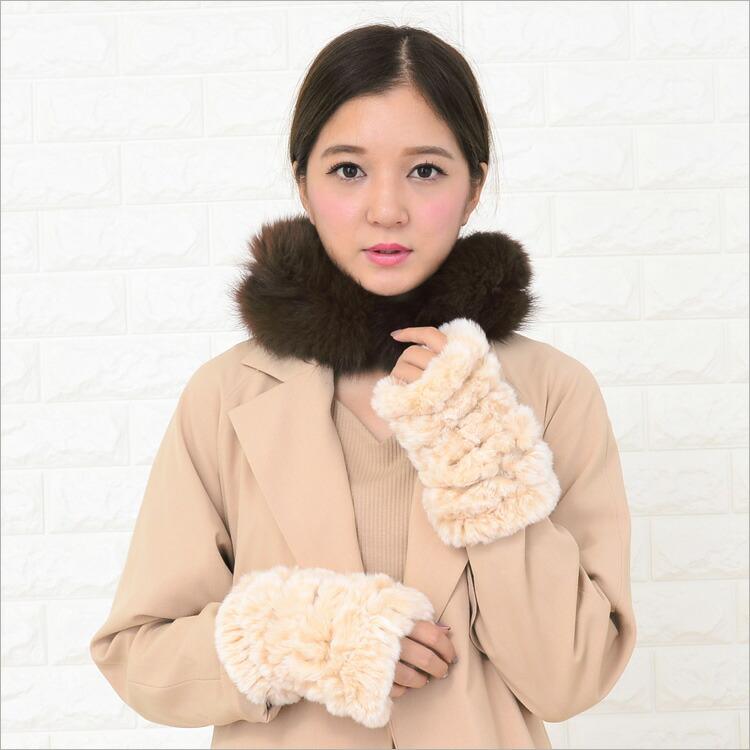 ファーマフラー,毛皮,日本製