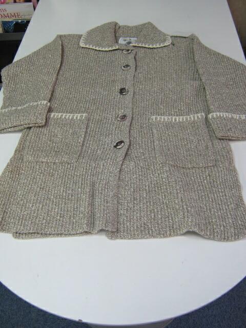 カシミヤ&ウールジャケット