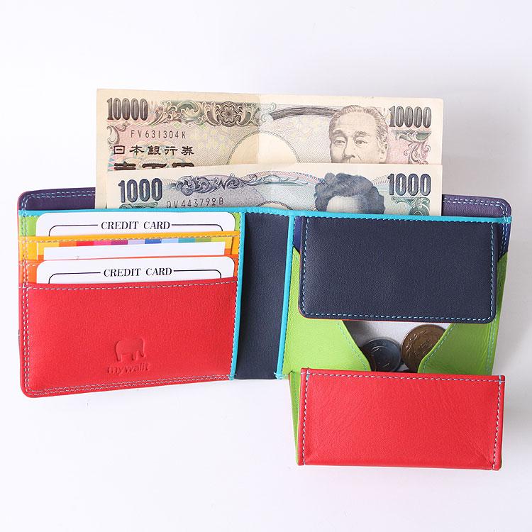 マイウォレット,mywalit,財布,本革財布,レザー財布