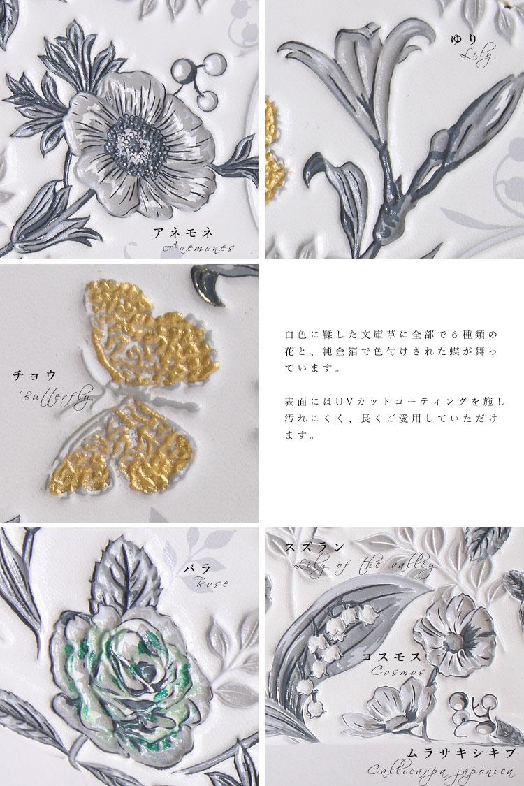 浅草文庫革 友禅染 長財布 江戸小紋 アクセサリー