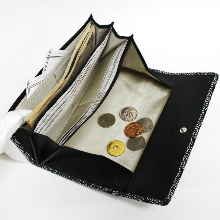Arukan(アルカン) ノバク 1314-634 中国製 ソフトレザー サークル箔押し ギャルソン 長財布