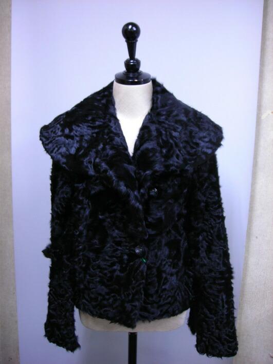 ラム,ジャケット,ブラック#PAC1146,55