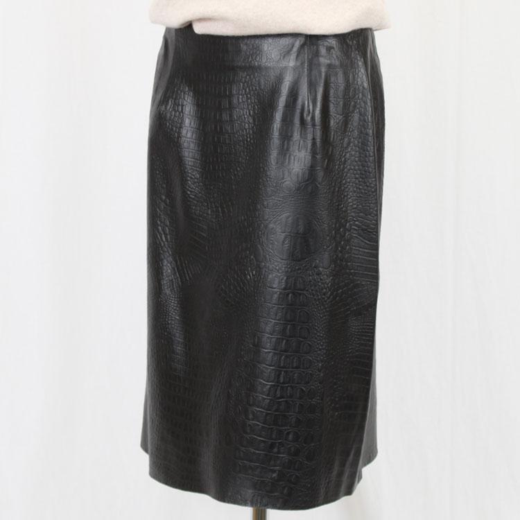 ラムレザー,スカート